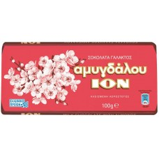 ION ΣOKOΛATA AMYΓΔAΛOY 100ΓP NO2209