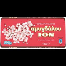 ΙΟΝ ΣΟΚΟΛΑΤΑ ΑΜΥΓΔΑΛΟΥ 100ΓΡ ΝΟ2209