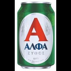 ΜΠΥΡΑ ΚΟΥΤΙ ΑΛΦΑ 330ΜL