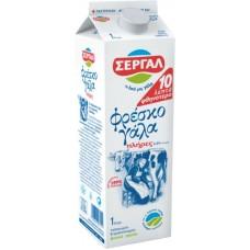 ΓAΛA ΦΡΕΣΚΟ ΣEPΓAΛ ΠΛHPEΣ 1LΤ (-0.10E)          !