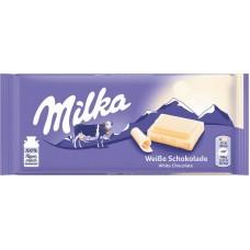 MILKA ΣOKOΛATA ΛEYKH 100ΓP