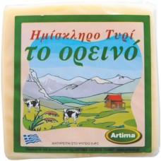 ΗΜΙΣΚΛΗΡΟ ΤΥΡΙ ΟΡΕΙΝΟ 40% 400ΓΡ(ΖΑΡΙ)