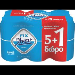 FΙΧ ΜΠΥΡΑ ΑΝΕΥ ΑΛΚΟΟΛ 330ΜL(5+1)
