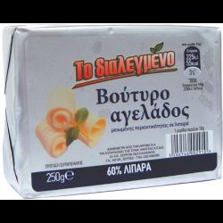 ΤΟ ΔΙΑΛΕΓΜΕΝΟ ΒΟΥΤΥΡΟ ΑΓΕΛ.60% 250ΓΡ