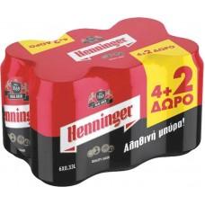 ΜΠΥΡΑ KOYTI HENNINGER  330ML(4+2)