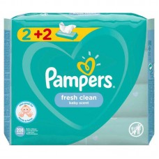 MΩPOMANTHΛA PAMPERS ANTΑΛΑΚΤΙΚΟ FRESH 52(2+2)