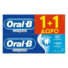 ORAL-B OΔ/MA COMPLETE WASH WH.75ML(1+1)